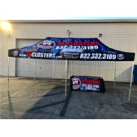 10' x 20' Custom Tent Canopy with Aluminum Frame