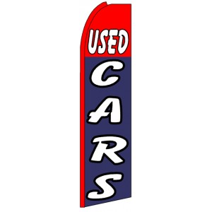 Used Cars - Advertising Feather Flag Banner