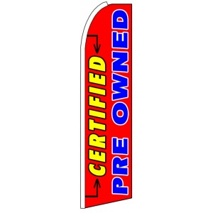 Certified Pre Owned - Feather Flag Banner
