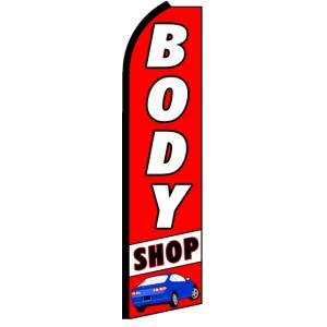 Body Shop - Advertising Feather Flag Banner