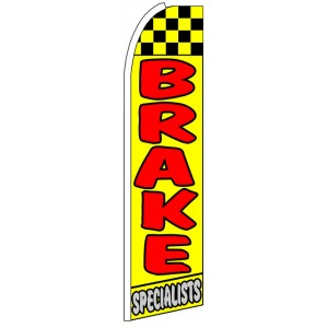 Brake Specialists - Advertising Feather Flag Banner