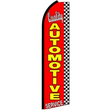 Quality Automotive - Feather Flag Banner
