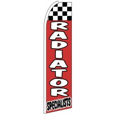 Radiator Specialists - Feather Flag Banner
