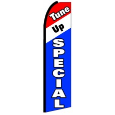Tune Up Special - Advertising Feather Flag Banner