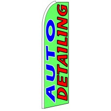 Auto Detailing - Advertising Feather Flag Banner