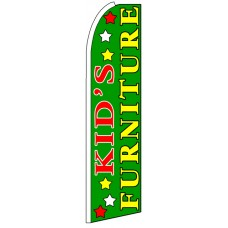 Kid's Furniture - Advertising Feather Flag Banner