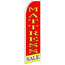 Mattress Sale - Advertising Feather Flag Banner
