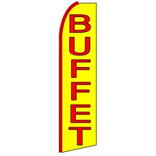 Buffet - Advertising Feather Flag Banner