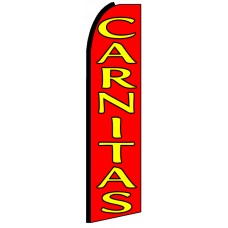 Carnitas - Advertising Feather Flag Banner