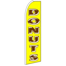Donuts - Advertising Feather Flag Banner