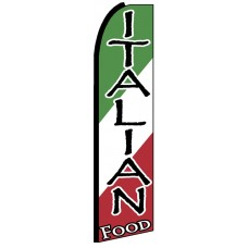 Italian Food - Advertising Feather Flag Banner