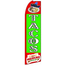 Tacos - Advertising Feather Flag Banner