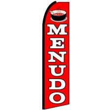 Menudo - Advertising Feather Flag Banner