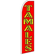 Tamales - Advertising Feather Flag Banner