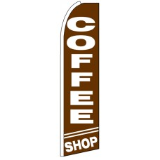 Coffee Shop - Advertising Feather Flag Banner