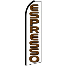 Espresso - Advertising Feather Flag Banner