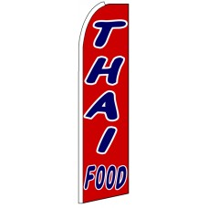 Thai Food - Advertising Feather Flag Banner