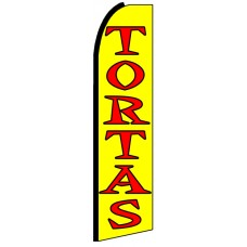Tortas - Advertising Feather Flag Banner