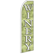 Winery - Advertising Feather Flag Banner