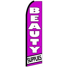 Beauty Supply - Advertising Feather Flag Banner