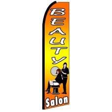 Beauty Salon - Advertising Feather Flag Banner