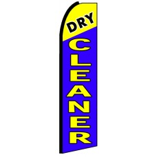Dry Cleaner - Advertising Feather Flag Banner