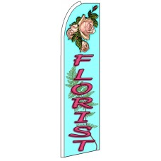Florist - Advertising Feather Flag Banner