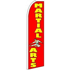 Martial Arts - Advertising Feather Flag Banner