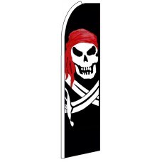 Pirate - Advertising Feather Flag