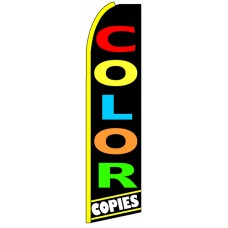 Color Copies - Advertising Feather Flag Banner