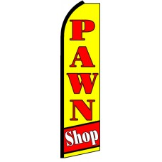 Pawn Shop - Advertising Feather Flag Banner