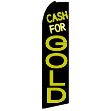 Cash For Gold - Advertising Feather Flag Banner
