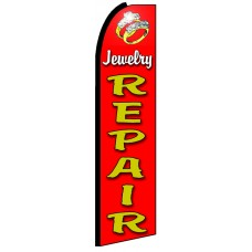 Jewelry Repair - Advertising Feather Flag Banner