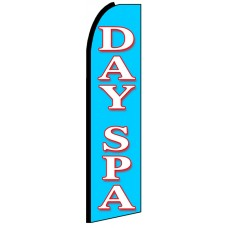 Day Spa - Advertising Feather Flag Banner