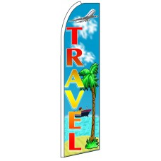 Travel - Advertising Feather Flag Banner