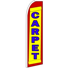 Carpet - Advertising Feather Flag Banner