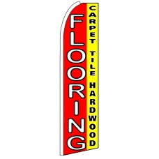 Flooring - Advertising Feather Flag Banner
