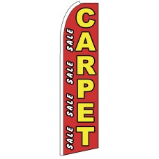 Carpet Sale - Advertising Feather Flag Banner