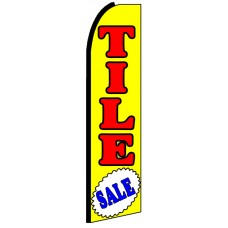 Tile Sale - Advertising Feather Flag Banner