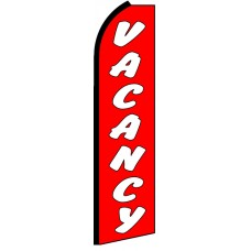 Vacancy - Advertising Feather Flag Banner