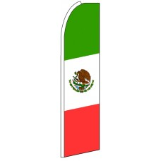Mexico - Advertising Feather Flag Banner