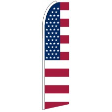 US Stars Stripes - Advertising Feather Flag Banner