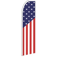 US - Advertising Feather Flag Banner