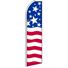 US Patriotic - Advertising Feather Flag Banner