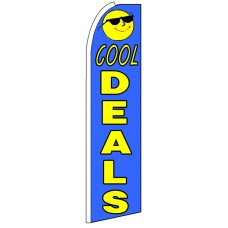 Cool Deals - Advertising Feather Flag Banner