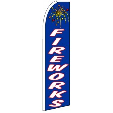 Fireworks - Advertising Feather Flag Banner