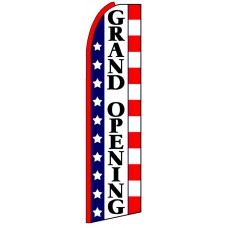 Grand Opening - Advertising Feather Flag
