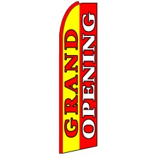 Grand Opening - Advertising Feather Flag Banner