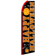 Happy Halloween - Advertising Feather Flag Banner