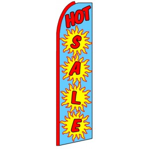 Hot Sale - Advertising Feather Flag Banner